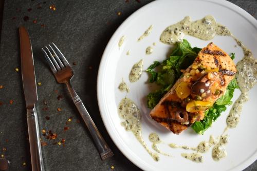 Food Photography Salmon-Dish-at-Tavolo-Italia